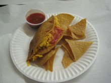 Now that's what I call a taco.