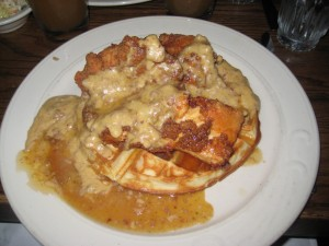 Chicken + waffles = WTF?