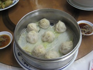 Xiao long bao...Small dragon dumplings?