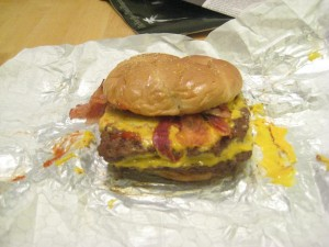 The burger that eats you...