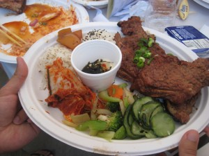 Finally, my meat from Beverly Tofu House