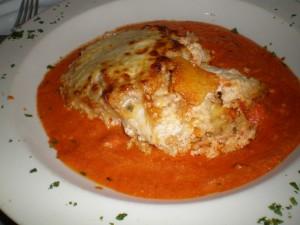 Chicken Polenta Lasagna