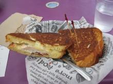 A sandwich of beauty.