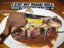 The most appetizing road kill ever.
