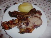 Some meaty bones at Rio Serrano Hotel.