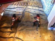 Great climbing outfits.