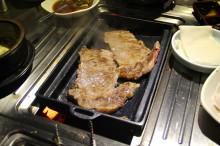 Twin steaks!