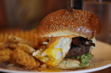 Egg burger don't fail me now.