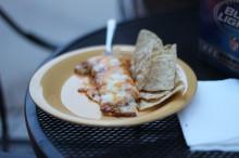 Some boomtown enchiladas.