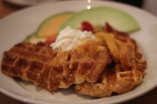 Real Belgian Waffles. Mind. Blown.