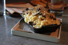 Brisket + Mac and Cheese = Yum.