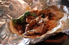 I call this Porky the Taco.