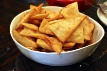Chips beat dip.