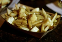 Poutine is always king.