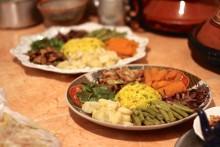 More Moroccan salad.