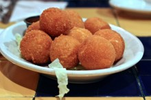 Great balls of cheese.