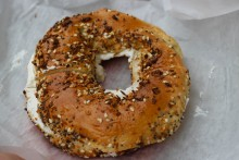 Beauty in bagel form.