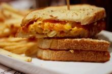 The heart attack sandwich.