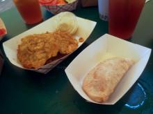 Tostones and empanadas oh my.