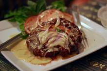 A Thai burger.