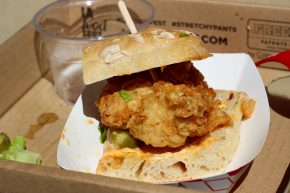 Attaboy Sandwiches - Fried Chicken Sandwich