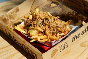 Fritzi Dog - Black Garlic Fries