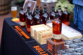 This and other bourbons were there.