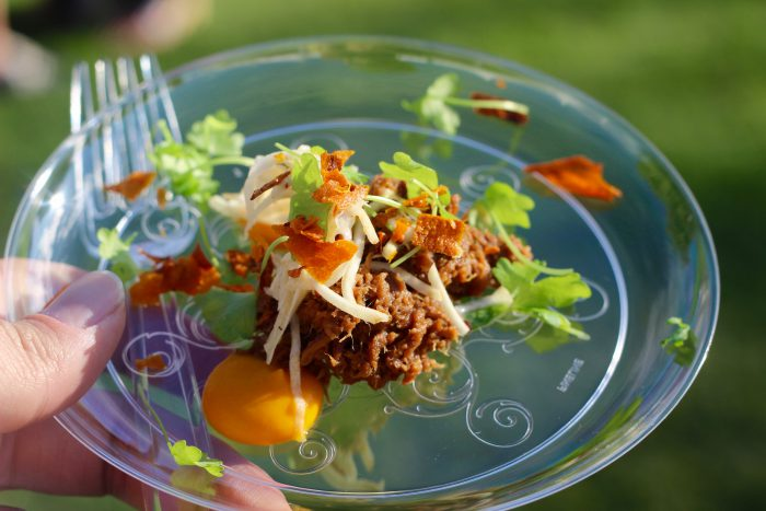unvegan the food event saddle peak lodge