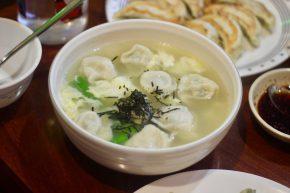 Soup for a dumpling.